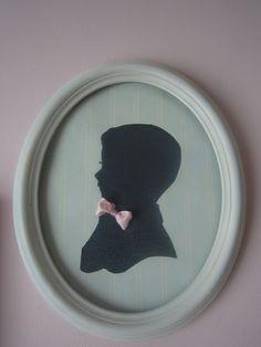 Children's Vintage Silhouette Art