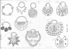 Temple Rings.  Desperately need to make some.  I'm a bad Rus.