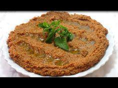 الكبه الكذابه - YouTube Lebanese Recipes, Hummus, Salmon, Eat, Cooking, Ethnic Recipes, Youtube, Food, Bulgur