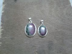 Ruby zocite pendant for sisters