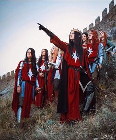 Feanor and his sons cosplay<<<I have read the silmarillion but my mind keeps going to Monty python. On second thought let's not go to angbad it is a silly place.