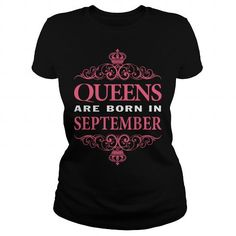 Cool september queens are born in september T shirts