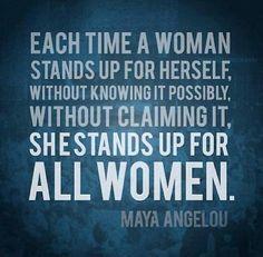 All women.