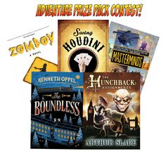 Adventure Book Prize Pack Giveaway