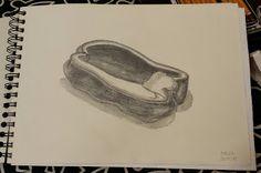 lahoradelaspalabras: Dibujo Medio Pimiento
