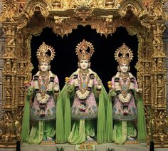 Daily Murti Darshan - Shri Swaminarayan Mandir, London