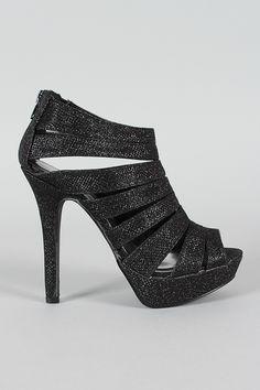 Sandalias negras stiletto
