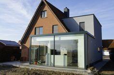 Een mooie verbouwing van een huis.