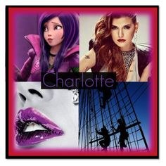 """Charlotte"" by maxinehearts ❤ liked on Polyvore featuring art"