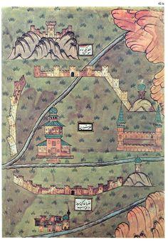 Antiche mappe del '500 che sembrano illustrazioni contemporanee - Frizzifrizzi