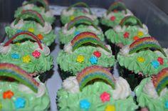 """Over the rainbow cupcakes"""