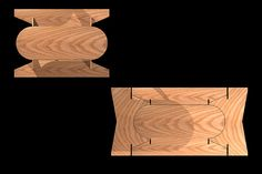 Mesa de pic-nic (1 hoja de Triplay 122x244-cero desperdicio)  por Arq. Iñigo Ortiz Monasterio Picnic table (1 sheet of plywood 122x244-zero waste) by Arch Iñigo Ortiz Monasterio