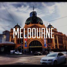 Board Cover: Melbourne (Instagram Overlay)