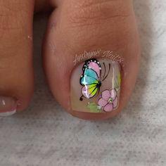Cute Toe Nails, Cute Toes, Pretty Toes, Merry Christmas Gif, Toe Polish, Cute Animal Photos, Nail Bar, Manicure And Pedicure, Short Nails