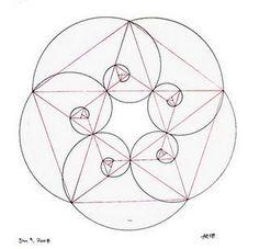 espiral de fibonacci geometria sagrada - Buscar con Google                                                                                                                                                      Más