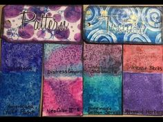 Learn how to create pattern and texture by using the salt technique with all your color mediums. If you would like to sponsor my channel, use this link: http. Art Journal Backgrounds, Art Journal Pages, Markers, Journals, Mixed Media, Salt, Make It Yourself, Texture, Youtube