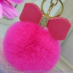 Pink fur bow pom pom gold color keychain with rhinestones #Pink #fur #bow #pom pom #gold color #keychain with #rhinestones http://randomfindsboutique.com/products/pink-fur-pom-pom-gold-color-keychain-with-rhinestones #randomfindsboutique #trending #instyle #popular