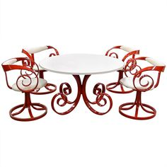 """Rare """"Sultana"""" Dinette Set by George Mulhauser"""