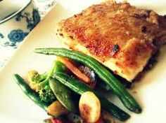 Sweet & Sour Mahi Mahi. Infused with a hint of soy and ginger.