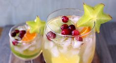 Festive Family Sangria- A Non-Alcoholic Punch.
