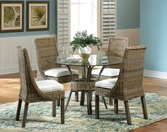 The Panama Jack Exuma Collection Is A Unique Wicker Seating Group Captivating Panama Dining Room Design Inspiration