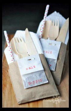 Great cutlery setting