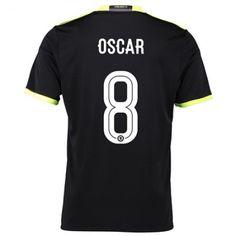 Chelsea 16-17 #Oscar Emboaba 8 Udebanesæt Kort ærmer,208,58KR,shirtshopservice@gmail.com