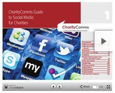 Guide to social media for charities via CharityComms Slideshare prez
