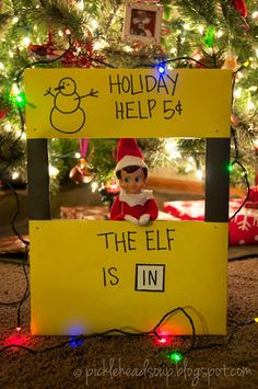 And others have been a bit more complex, like this clever reference to the Peanuts. | What's The Best Elf On The Shelf Idea You've Ever Had
