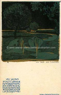Litho Ver Sacrum # 11 Adolf Böhm 1898