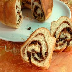 The Reindling is a pound cake of Carinthian cuisine.    It is a traditional sweet Easter food from yeast dough, filled with sugar, cinnamon, raisins and butter, (often with walnuts), rolled and baked in a tube shape.