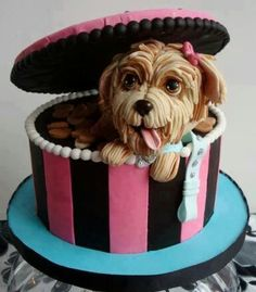 This cake is a work of art!
