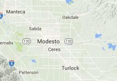 Hiking near Modesto, California
