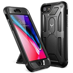 iPhone 8 Case, iPhone 7 Case, YOUMAKER Heavy Duty Protection Shockproof Belt Clip Holster Kickstand Case Cover for New Apple iPhone 8 inch iPhone 7 Without Screen Protector (Black) Iphone Deals, Buy Iphone, Iphone Hacks, Iphone 7 Plus Cases, Screen Protector, Apple Iphone, Discount Deals, November 13, Shopping Deals