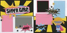 Super Girl! Page Kit