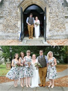 Stapleford church wedding, with floral bridesmaid dresses. Floral Bridesmaid Dresses, Wedding Dresses, Rustic Wedding Photography, Natural Light Photography, Documentary Wedding Photography, Church Wedding, Alternative Wedding, On Your Wedding Day, My Photos