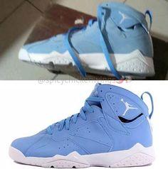 Air Jordan 7 Pantone University Blue Release Date - Sneaker Bar Detroit Tennis Accessories, Workout Accessories, Jordan 7, Jordan Retro, Michael Jordan, Sneaker Bar, Retro 7, Teen Boy Fashion, Nike Kicks