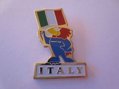 Italy 1998 FIFA Football World Cup in France Official Mascot Pin Badge  | eBay