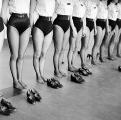 Jane Brown - The Tiller Girls, Borehamwood, 1962