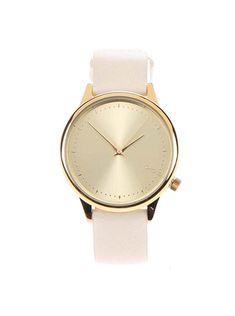 Krémové dámské hodinky Komono Estelle Pastel