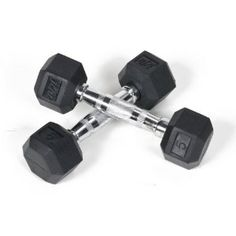 j/fit Rubber Hex Dumbbell Set - DOORSTOP FOR DORMS/APARTMENTS