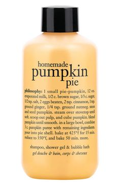 philosophy 'homemade pumpkin pie' shampoo, shower gel & bubble bath (Buy & Save) available at #Nordstrom