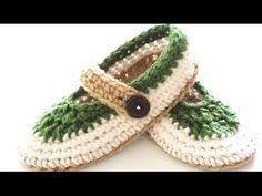 ▶ St. Patty Slapper Crochet Slippers - Pt 1 - Sole - YouTube