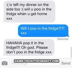 funny auto-correct texts - The 21 Funniest Autocorrects of November 2013!