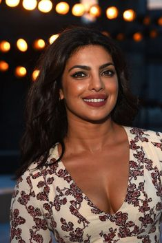 Priyanka Chopra  in Thakoon Dress at New York Fashion Week