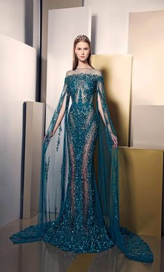 haute couture dress couture couture dresses couture kleider couture rose couture rules Elegance And Brilliance Through New Ziad Nakad Summer 2016 Dress Collection Elegant Dresses, Pretty Dresses, Amazing Dresses, Couture Dresses, Fashion Dresses, Woman Dresses, Bridal Dresses, Haute Couture Gowns, Fantasy Dress