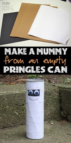 357 best m wood projects images on pinterest activities for pringle can mummy recycle a potato chip can this halloween fandeluxe Image collections