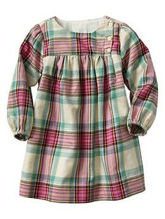 Plaid dress-Super cute for my little Gap baby!!