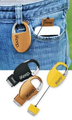 keychain charger. Could be perfect for music festivals, long hikes, or camping. - adventureideaz.com