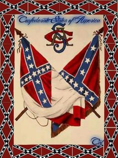 HONOR & GLORY. GOD BLESS OUR HEROES. Civil War Flags, Civil War Art, Southern Heritage, Southern Pride, Simply Southern, American Civil War, American Flag, American History, Confederate States Of America
